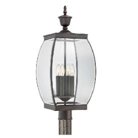 Quoizel Lighting OAS9011Z Oasis - Four Light Outdoor Post Lantern