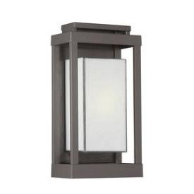 Quoizel Lighting PWL8307WT Powell - One Light Outdoor Wall Sconce