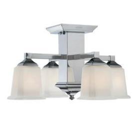 Quoizel Lighting QF1213SC Norwood - Four Light Semi-Flush Mount