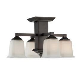 Quoizel Lighting QF1213SHO Norwood - Four Light Semi-Flush Mount