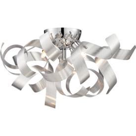 Quoizel Lighting RBN1616MN Ribbons - Four Light Flush Mount