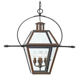Quoizel Lighting RO1914AC Rue De Royal - Four Light Hanging Lantern