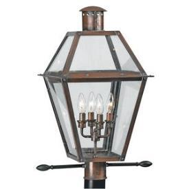 Quoizel Lighting RO9014AC Rue De Royal - Four Light Post Lantern
