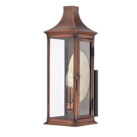 Quoizel Lighting SLM8406AC Salem - One Light Large Outdoor Wall Lantern