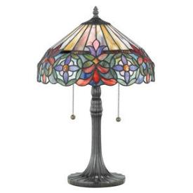 Quoizel Lighting TF6826VB Connie - Two Light Table Lamp