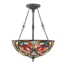 Quoizel Lighting TF879CVB Larissa - Three Light Pendant