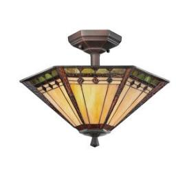 Quoizel Lighting TFAN1714RS Arden - Two Light Semi-Flush Mount