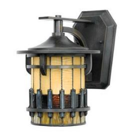 Quoizel Lighting TFAR8407BE Autumn Ridge - One Light Outdoor Small Wall Lantern