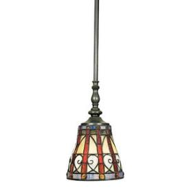 Quoizel Lighting TFAV156VB Ava - One Light Rod Hung Mini Pendant