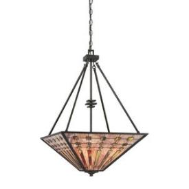 Quoizel Lighting TFBK2820IO Banks - Four Light Pendant