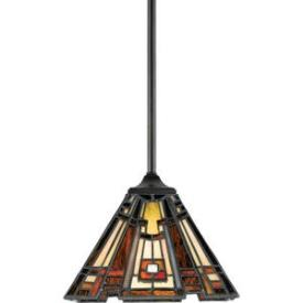 Quoizel Lighting TFCC1508 Classic Craftsman - One Light Mini-Pendant