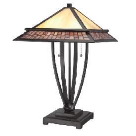 Quoizel Lighting TFMN6324VB Mason - Two Light Table Lamp