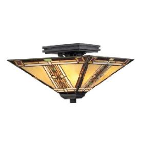 Quoizel Lighting TFNO1714VA Navajo - Two Light Semi-Flush Mount