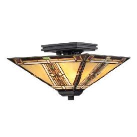 Quoizel Lighting TFNO1714VA Navajo - Two Light Semi-Flush Mount