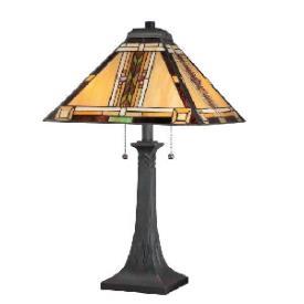 Quoizel Lighting TFNO6325VA Navajo - Two Light Table Lamp