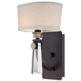 Quoizel Lighting UPBY8701WT Bowery - One Light Wall Sconce