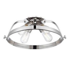 Quoizel Lighting UPTR1716IS Theater Row - Four Light Semi-Flush Mount
