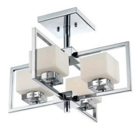 Quoizel Lighting WIN1718C Wain - Four Light Semi-Flush Mount