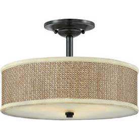 Quoizel Lighting ZE1717K Zen - Three Light Large Semi-Flush Mount