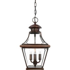 Quoizel Lighting CAR1801AC Carleton - Three Light Large Hanging Lantern