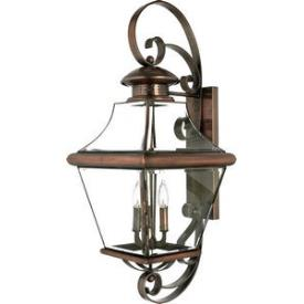 Quoizel Lighting CAR8414AC Carleton - Four Light Extra Large Wall Lantern