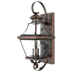 Quoizel Lighting CAR8728AC Carleton - One Light Medium Wall Lantern