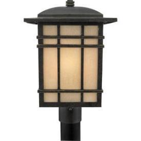 Quoizel Lighting HC9011IB Hillcrest - One Light Post Lantern