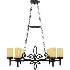 Quoizel Lighting LP639IB La Parra - Six Light Island Chandelier