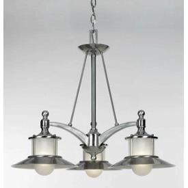 Quoizel Lighting NA5103BN New England - Three Light Dinette Chandelier