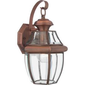 Quoizel Lighting NY8316AC Newbury - One Light Medium Wall Lantern