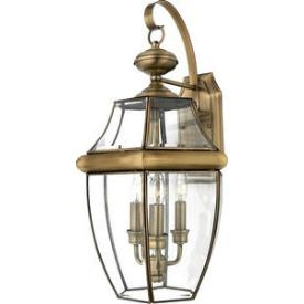 Quoizel Lighting NY8318 Newbury - Three Light Large Wall Lantern