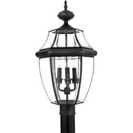 Quoizel Lighting NY9043Z Newbury - Three Light Large Post Lantern
