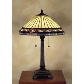 Quoizel Lighting TF6663VB Estacado - Two Light Table Lamp