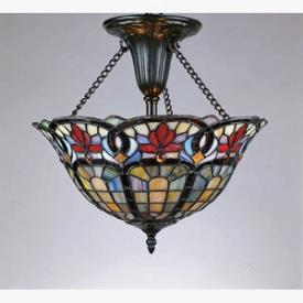 Quoizel Lighting TF1796VB Hyacinth - Two Light Medium Semi Flush Mount