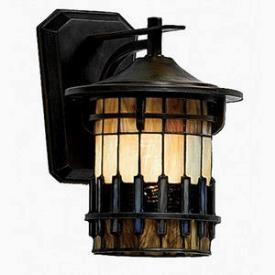 Quoizel Lighting TFAR8409BE Autumn Ridge - One Light Medium Wall Lantern