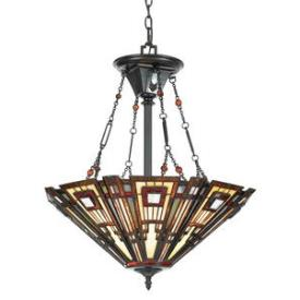Quoizel Lighting TFCC2822VA Classic Craftsman - Three Light Pendant
