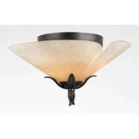 Quoizel Lighting YU1618IB Yuma - Three Light Extra Large Flush Mount
