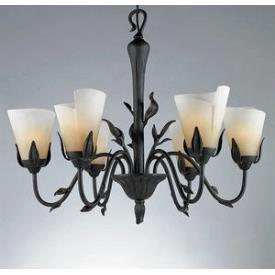 Quoizel Lighting YU5149IB Yuma - Six Light Chandelier